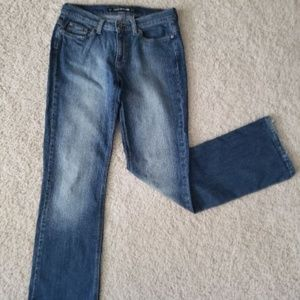 DKNY So-Low-Lita faded stretch Jeans, size 6